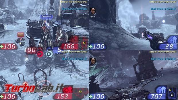 migliori giochi PC Multiplayer Locale schermo condiviso suddiviso - unreal_tournament_3