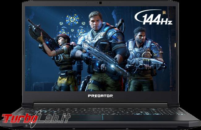 migliori notebook anno scorso: come risparmiare acquistando portatile generazione precedente - Acer Predator-Helios-300 2019