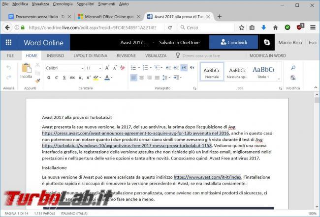 migliori suite gratuite programmi l'ufficio alternative Microsoft Office