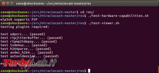 Miracast Ubuntu: guida Miraclecast Linux - miraclecast test hardware