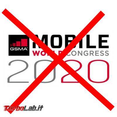 Mobile World Congress 2020 è stato definitivamente cancellato