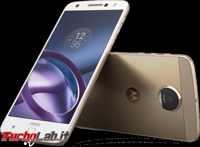 Motorola Moto Z: video-prova recensione - Moto Z Front_Back Combo