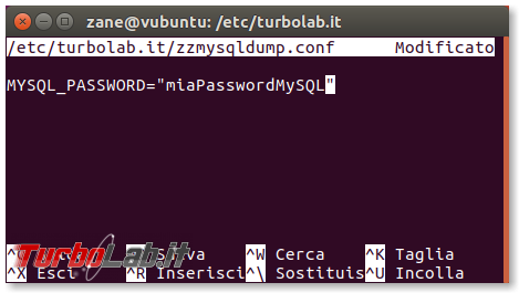 MySQL/mysqldump: creare file distinto/singolo ogni database zzmysqldump (script) - zzmysqldump_config_nano