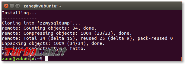 MySQL/mysqldump: creare file distinto/singolo ogni database zzmysqldump (script) - zzmysqldump_setup