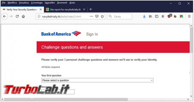 Netcraft Anti-Phishing l'estensione protegge browser siti pericolosi