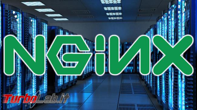Nginx è ora web server più usato
