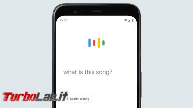 Non sai titolo canzone? Fischiettala Google te dirà