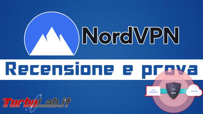 NordVPN è servizio VPN anonimo affidabile ( smart working) - Recensione prova - nordvpn spotlight