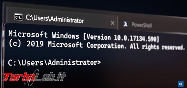 nuovo, bellissimo Windows Terminal si mostra video-promo ufficiale - Mobile_zShot_1557187173