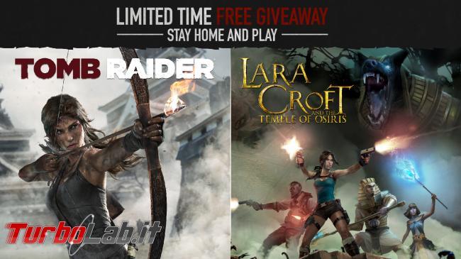 nuovo Tomb Raider è regalo Steam - lara croft tomb raider giveaway