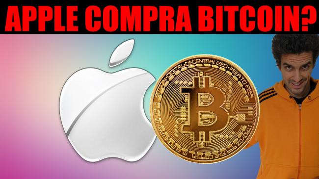 Ora Apple compra Bitcoin? (video) - apple compra bitcoin spotlight