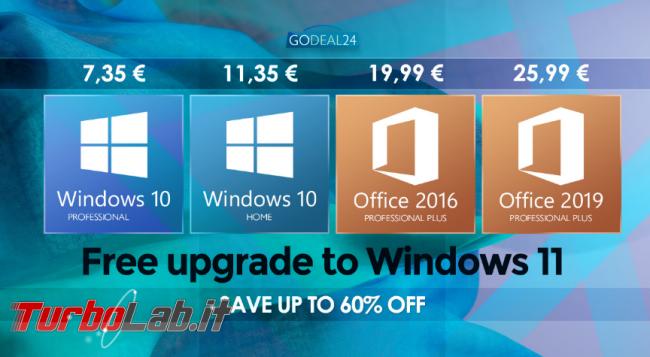 Ottieni Windows 10 7,35 € aggiorna Windows 11 gratuitamente - FrShot_1633935777