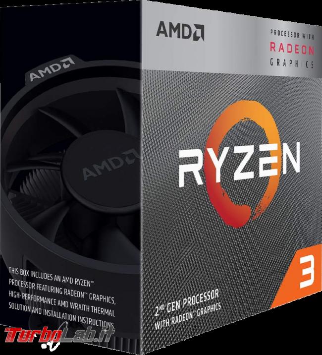 PC fisso economico 2019: guida scelta CPU, GPU, scheda madre, RAM, SSD, case - amd ryzen with radeon graphics