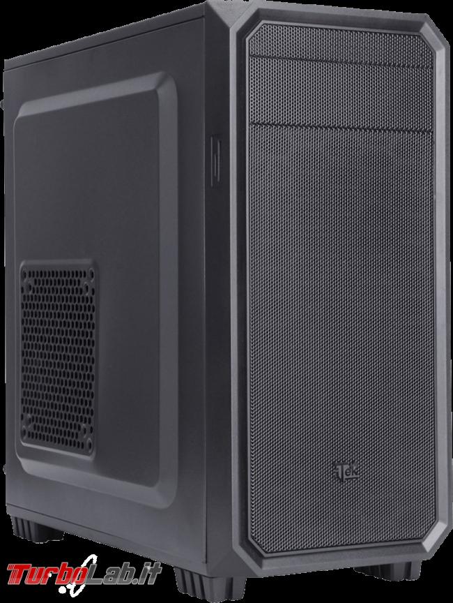 PC fisso economico 2019: guida scelta CPU, GPU, scheda madre, RAM, SSD, case - case itek patriot mini