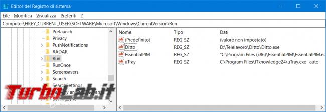 Perché ho Program Avvio computer?