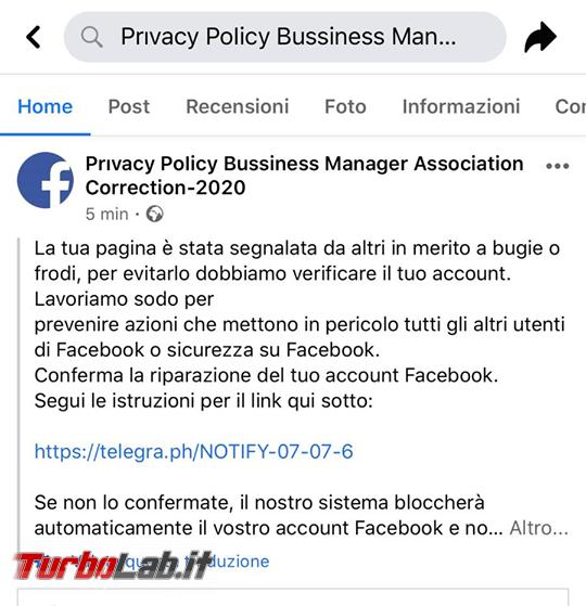 Phishing Facebook: pagina è stata segnalata altri merito bugie frodi - 107621787_2572554792994712_6943801134978593935_n