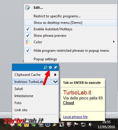 PhraseExpress facilita velocizza l'inserimento testi predefiniti qualsiasi documento applicazione Web