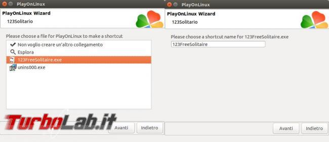 PlayOnLinux ti permette usare molti giochi programmi Windows Ubuntu