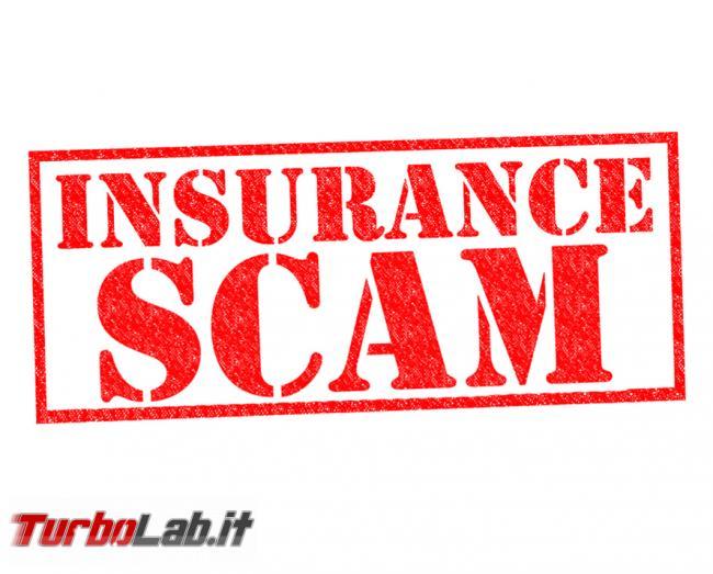Polizze assicurative online: attenzione truffe