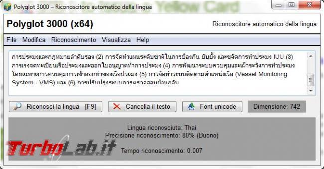 Polyglot 3000 vi aiuta riconoscere lingue straniere
