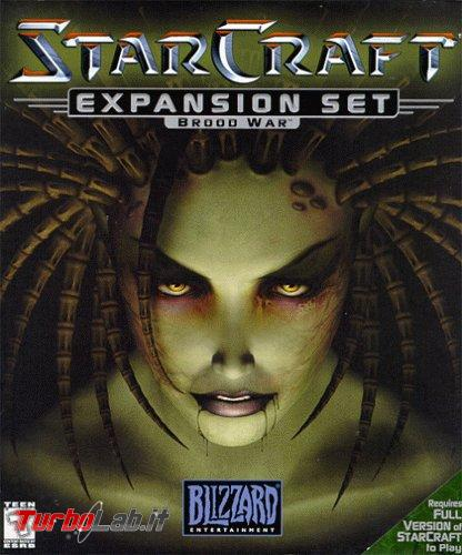 primo StarCraft è ora scaricabile gratuitamente ( espansione Brood War inclusa) - Brood_War_box_art_(StarCraft)