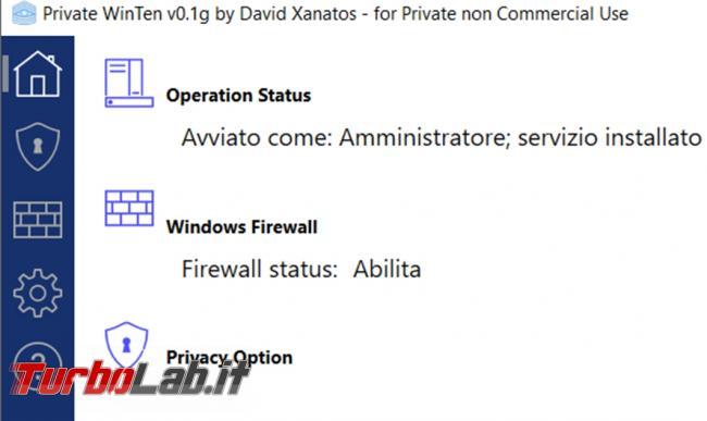 Private Win10 gestisce, migliora aumenta privacy Windows 10