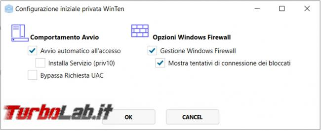 Private WinTen gestisce, migliora aumenta privacy Windows 10