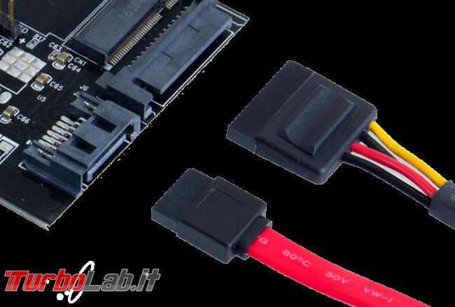 Problema: disco fisso collegato interfaccia SATA II (3.0 Gb/s) - PC lento?