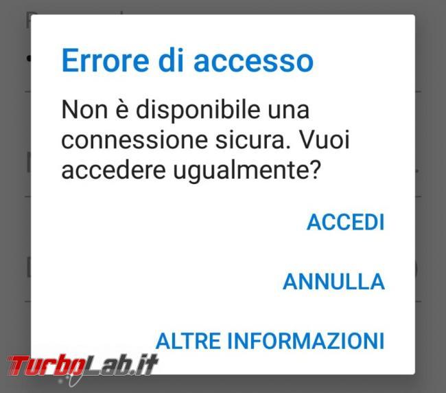 Problemi Libero Mail: errore accesso continua richiesta password - problemi libero mail (1)