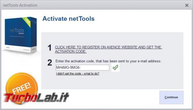 programma diagnostica rete si chiama Axence NetTools