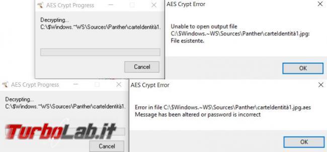 Proteggere file password crittografia: guida rapida AES Crypt