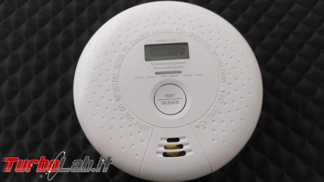 Proteggi casa rilevatore combinato fumo monossido carbonio X-SENSE SC01 (recensione) - IMG_20200212_065503