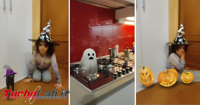 Prova animazioni Google 3D Halloween paura - halloween turbolab