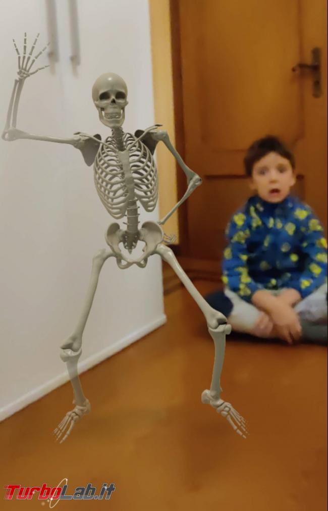 Prova animazioni Google 3D Halloween paura - IMG_20201030_180509