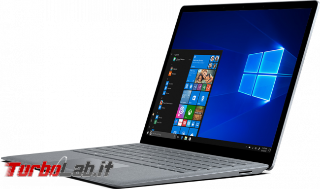 Questa settimana TLI (02 settembre 2017) - surface laptop 2017