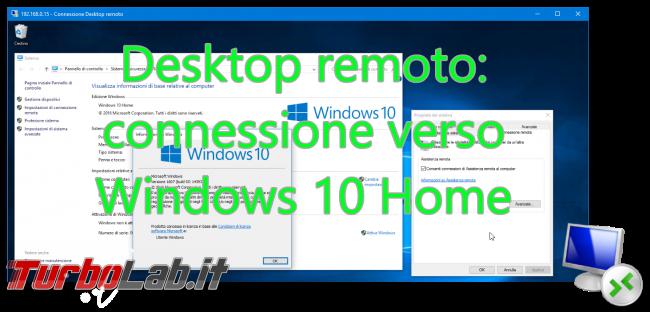 Questa settimana TLI (03 settembre 2016) - desktop remoto windows 10 home spotlight