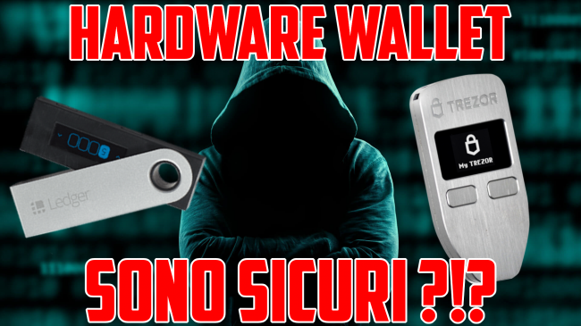 Questa settimana TLI (05 settembre 2020) - hardware wallet spotlight