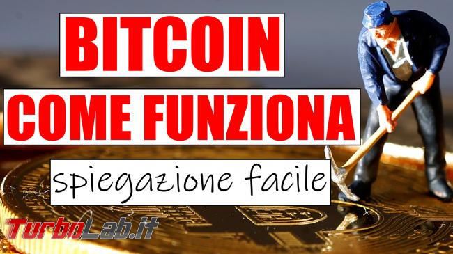 Questa settimana TLI (08 giugno 2019) - bitcoin come funziona spotlight