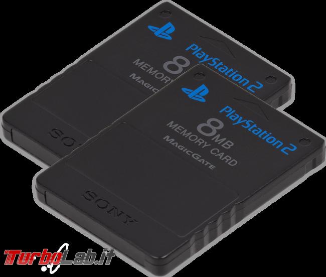 Questa settimana TLI (09 dicembre 2017) - playstation 2 memory card