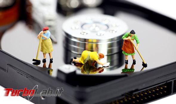 Questa settimana TLI (09 febbraio 2019) - pulizia hard disk cleanup