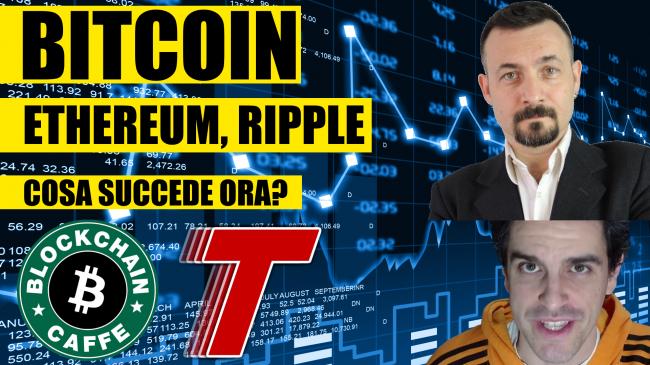 Questa settimana TLI (09 gennaio 2021) - bitcoin ethereum ripple cosa succede ora (con blockchain caffè) spotlight