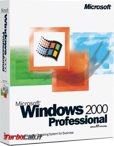 Questa settimana TLI (10 febbraio 2018) - windows 2000 professional box