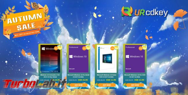 Questa settimana TLI (12 ottobre 2019) - Autumn-Sale-CDKey-1030x524