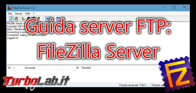 Questa settimana TLI (12 settembre 2015) - FileZilla Server spotlight