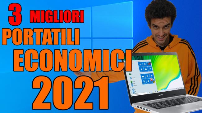 Questa settimana TLI (16 gennaio 2021) - migliori notebook pc portatili economici 2021