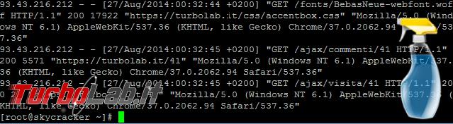 Questa settimana TLI (16 maggio 2015) - linux clean terminal spotlight