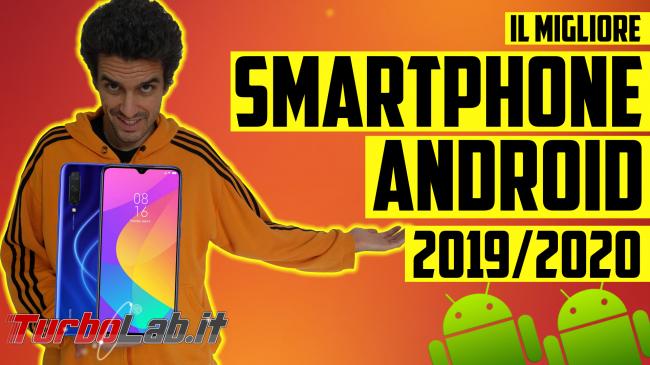 Questa settimana TLI (16 novembre 2019) - migliori smartphone android 2019
