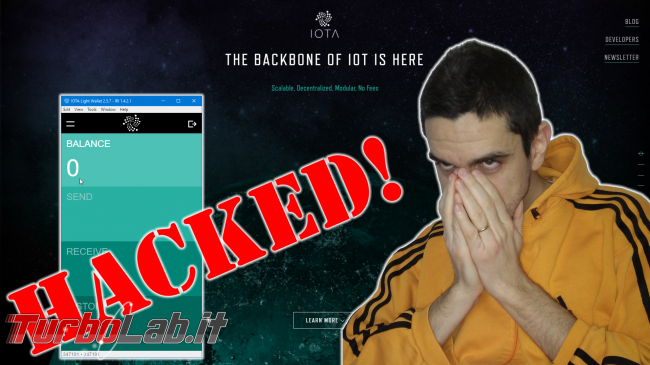 Questa settimana TLI (17 febbraio 2018) - iota hacked spotlight