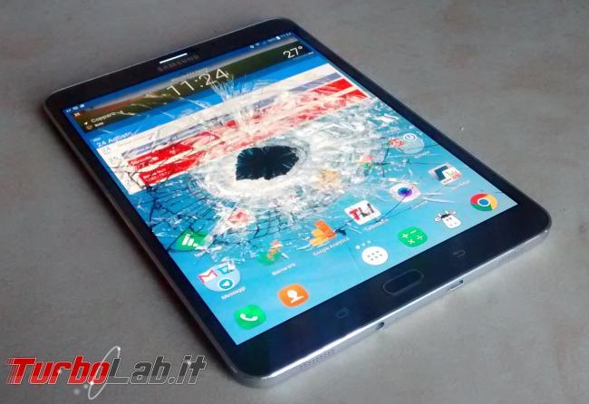 Questa settimana TLI (18 novembre 2017) - android tablet schermo rotto