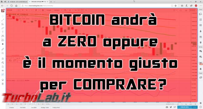 Questa settimana TLI (20 gennaio 2018) - spotlight bitcoin a zero